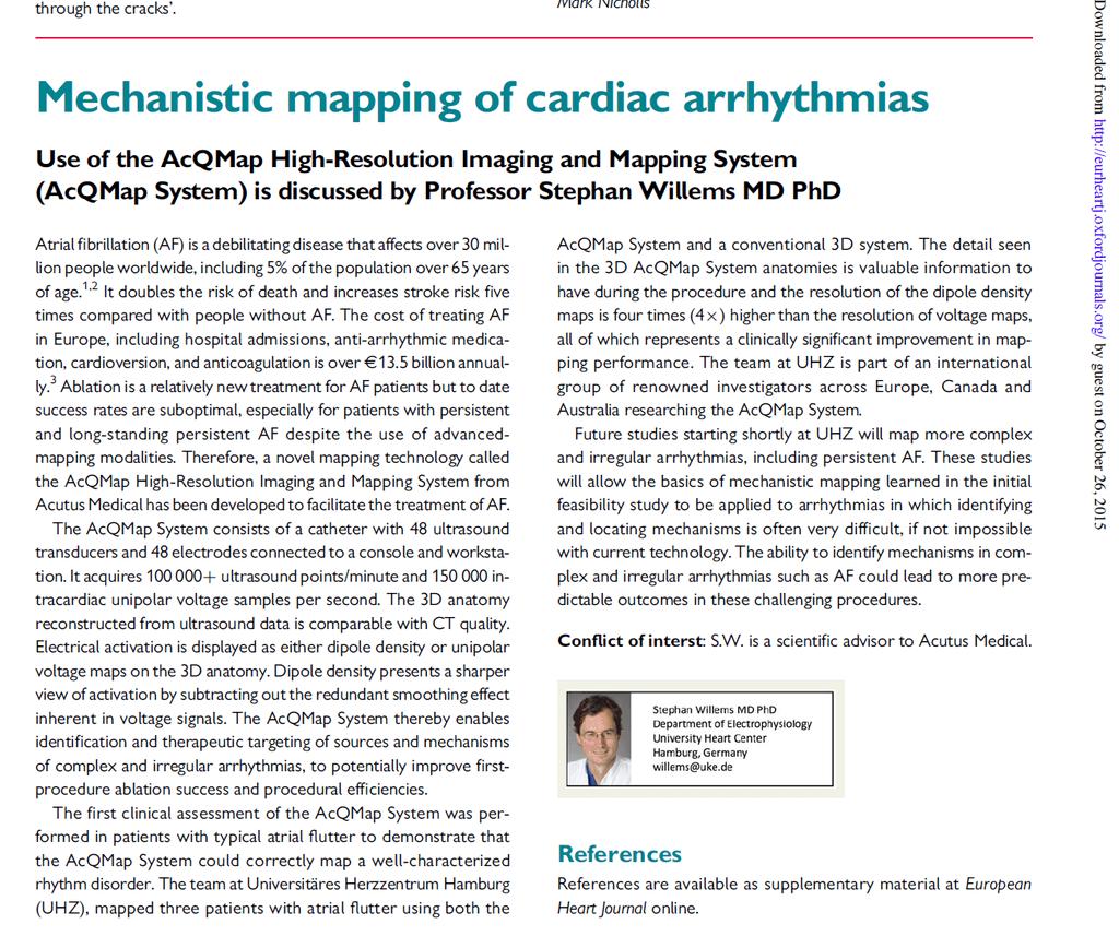 Mechanistic Mapping of Cardiac Arrhythmias